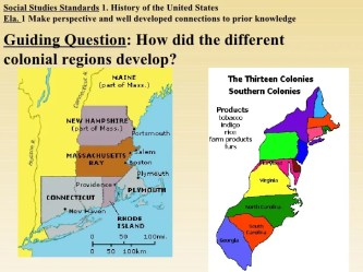 The New England Colonies Pilgrims And Puritans