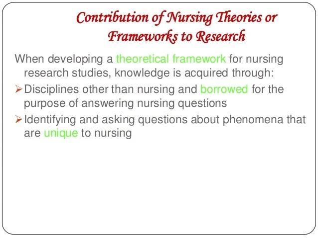 Theoretical & Framework