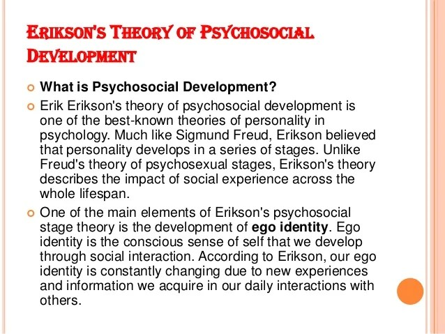 Comparison Maslow And Erik Erikson Research Paper Help