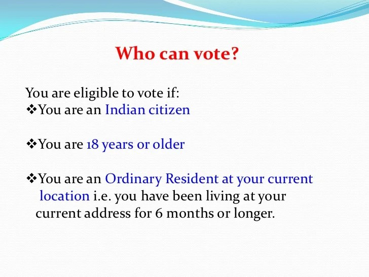 also the process and method of election rh slideshare
