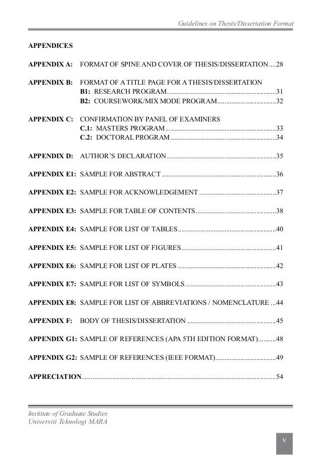 UiTM Thesis Guidelines 2013