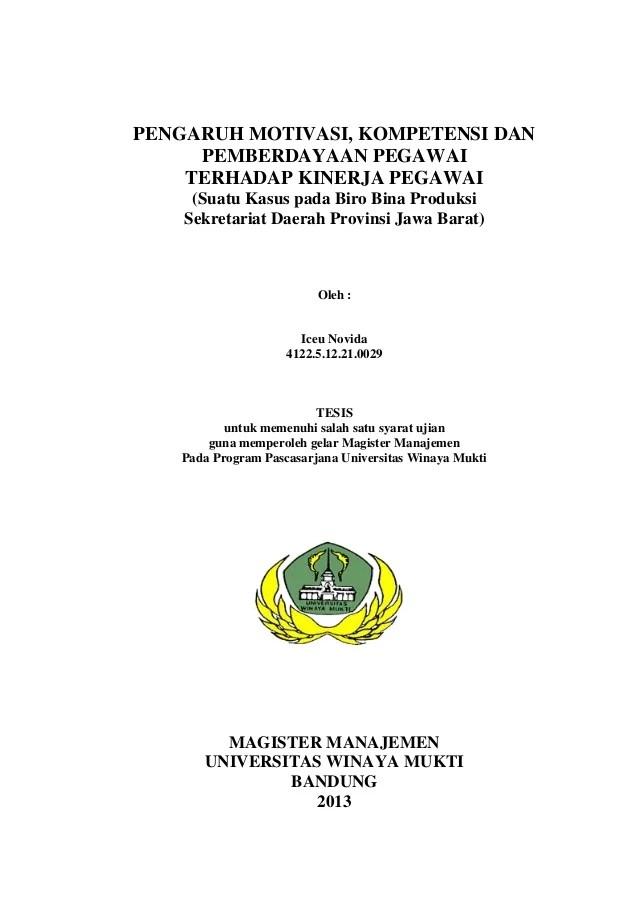 Tesis Manajemen Sdm : tesis, manajemen, TESIS