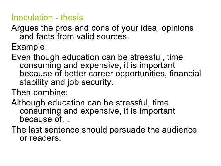 5 paragraph essay pros and cons