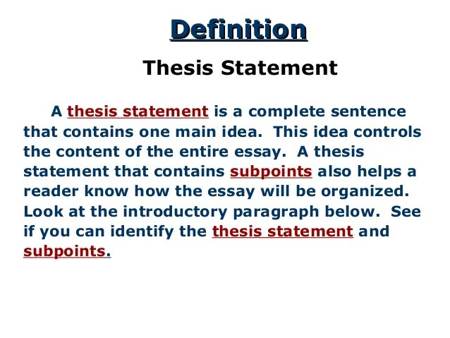 Someone Help Me In Writing My Essay For Uni! Thesis Statement On
