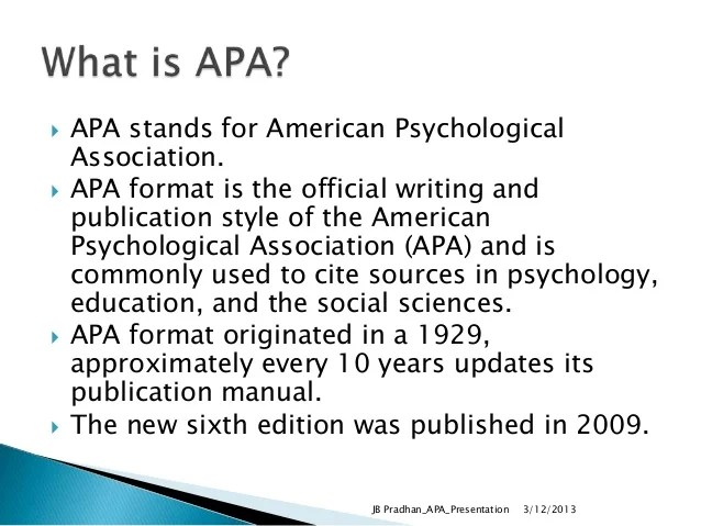 Citing published dissertations in apa style