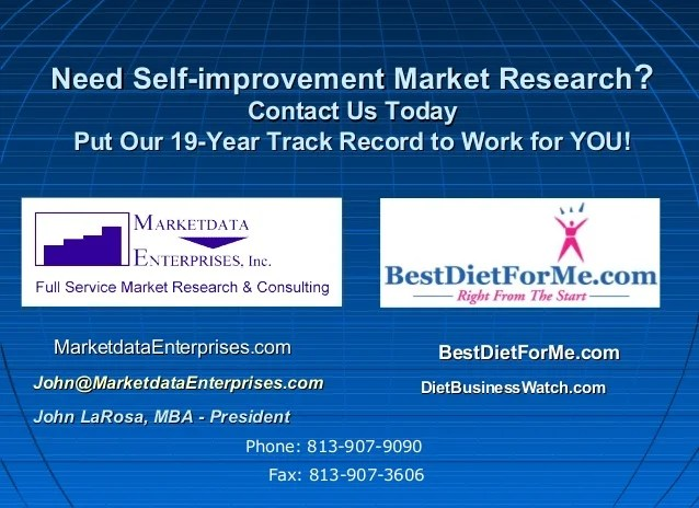 Self Improvement Market 2017