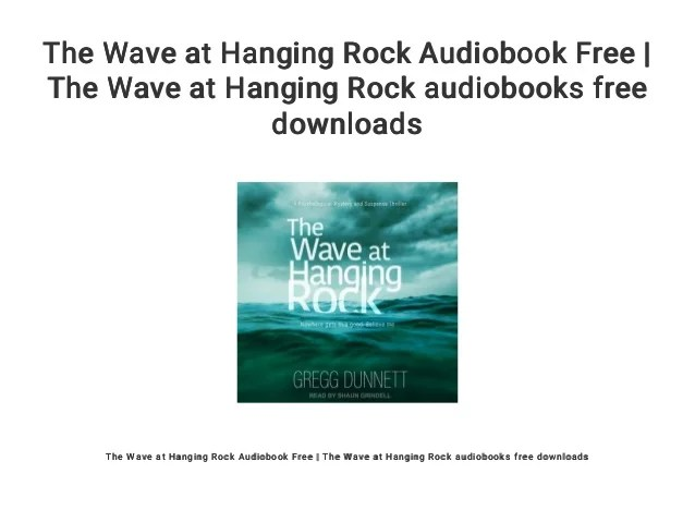 the wave at hanging
