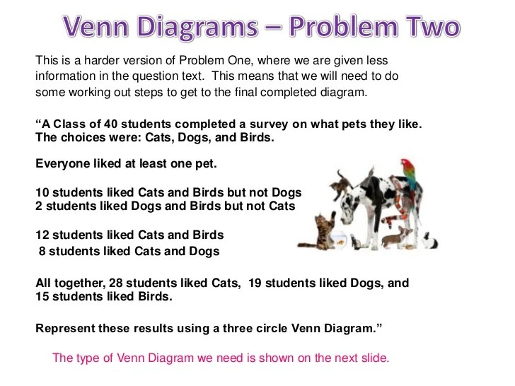 venn diagram word problems with 3 circles trailor wiring three circle diagrams 14