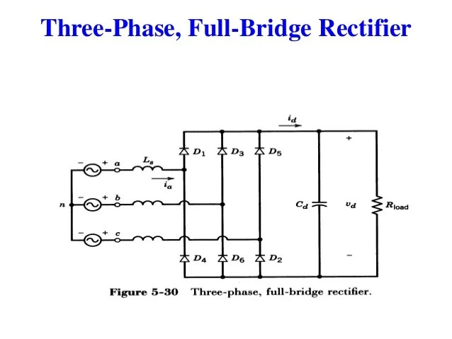 Three Phase Half Wave Rectifier Circuit Diagram  Somurich