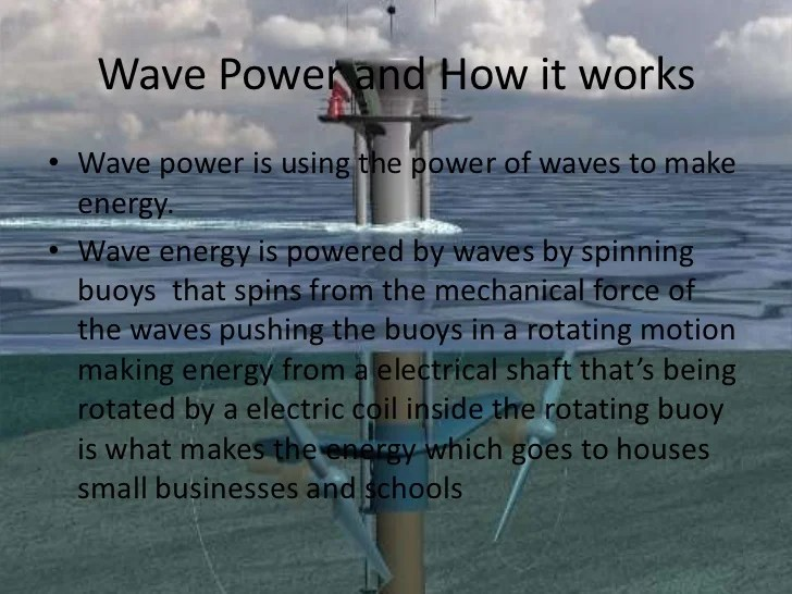 Diagram Of How Wave Energy Works On Magnetic Generator Diagram