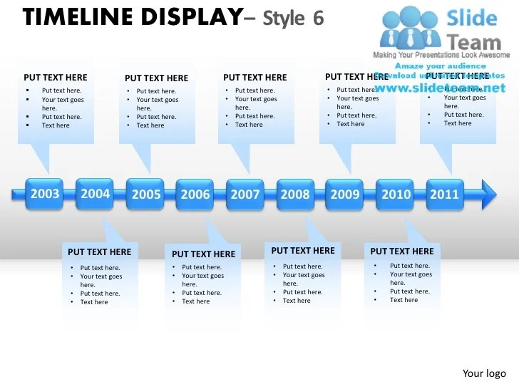 smartart timeline powerpoint