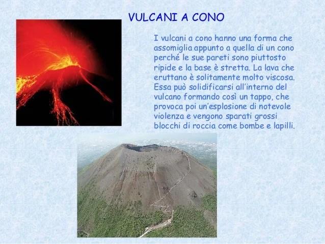 Tipi di lava e di vulcano adele