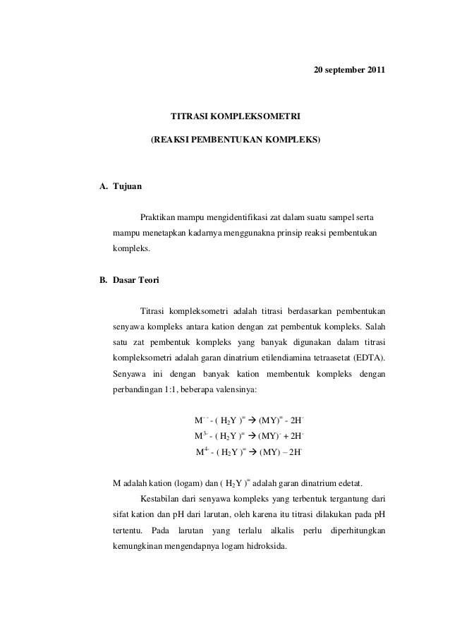Titrasi kompleksometri - SlideShare