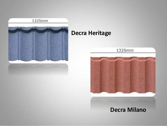 top roof tile brands like decra