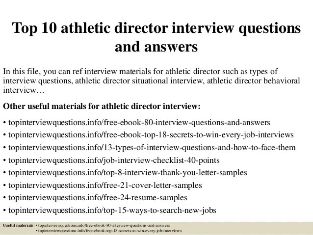 Top 10 Athletic Director Interview Questions And Answers 1 638 ?cb=1427520933