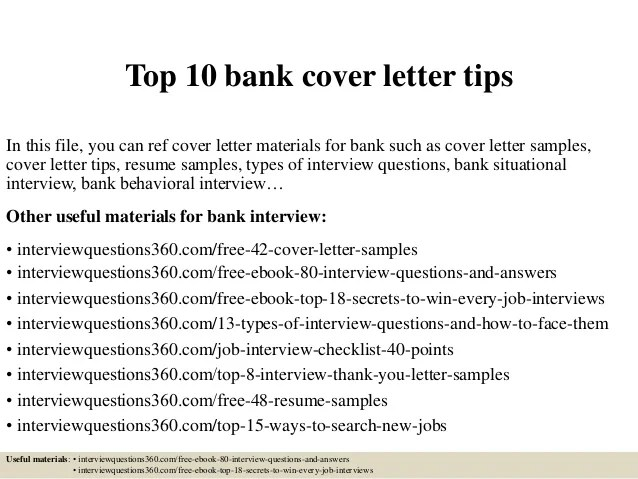 Cover Letter Samples Bank Relationship Manager | Profesional ...