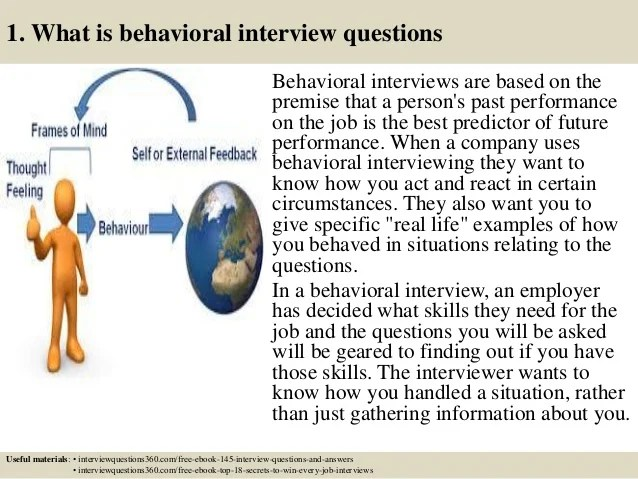 Top 10 Behavioural Interview Questions And Answers