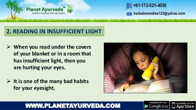 Top 10 Common Habits That Are Hurting Your Eyes   Avoid ...