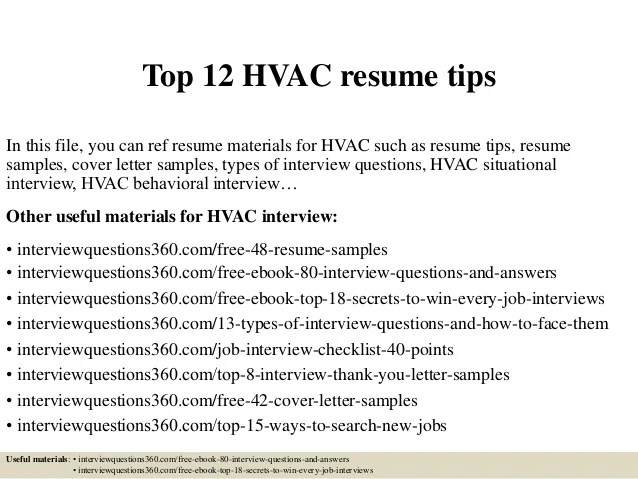 tips for resume objective