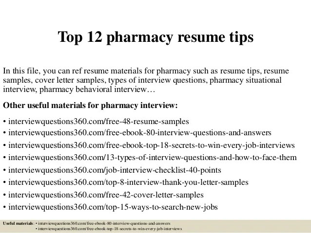 Community Pharmacist Resumes - Jianbochen.com - Objective for Resume