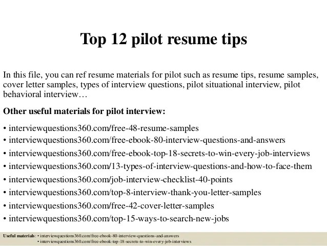 Top 12 Pilot Resume Tips 1 638 ?cb=1428179800
