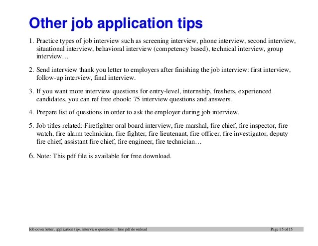 Second Career Application Tips | Free Resume Pdf Download
