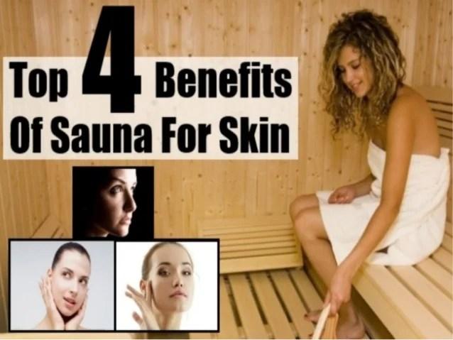 Top 4 benefits of sauna for skin
