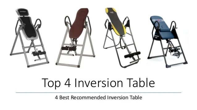 marcy inversion chair table luxury bean bag chairs top 4 best recommended