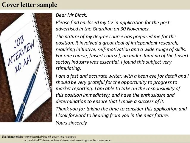 Top 5 chemical engineer cover letter samples