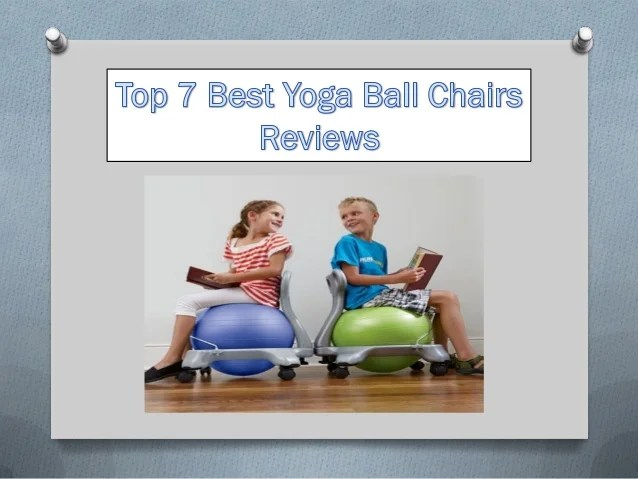 best yoga ball chair reviews sleeper sofa top 7 chairs