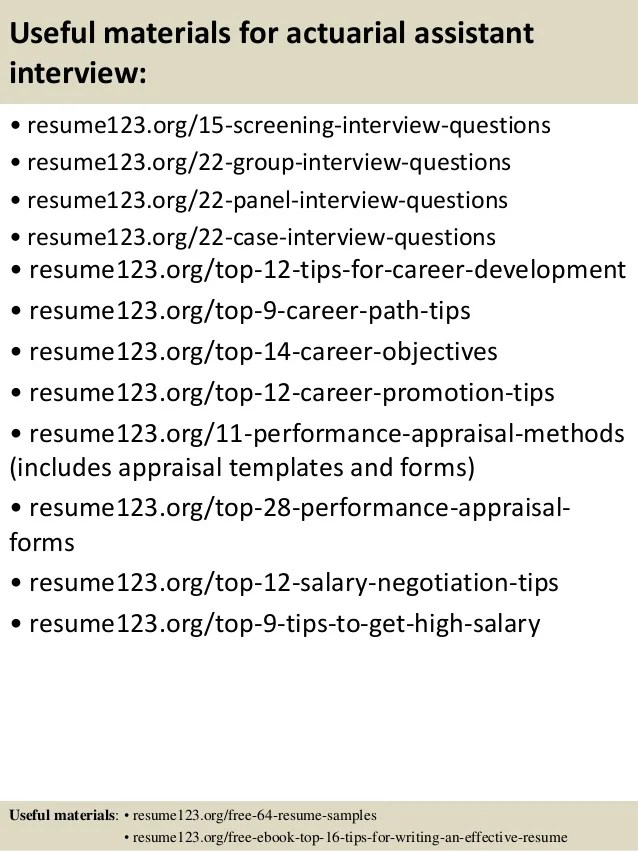 Actuarial Resume Example - Examples of Resumes
