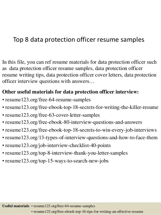cv data protection officer linkedin