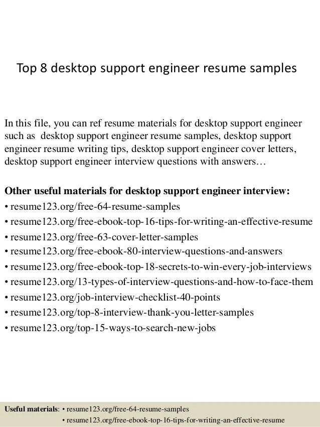 Top 8 Desktop Support Engineer Resume Samples 1 638 ?cb=1427960219