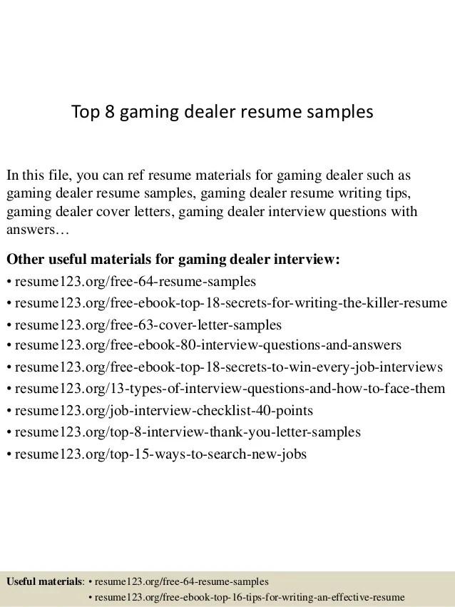 tender resume sample