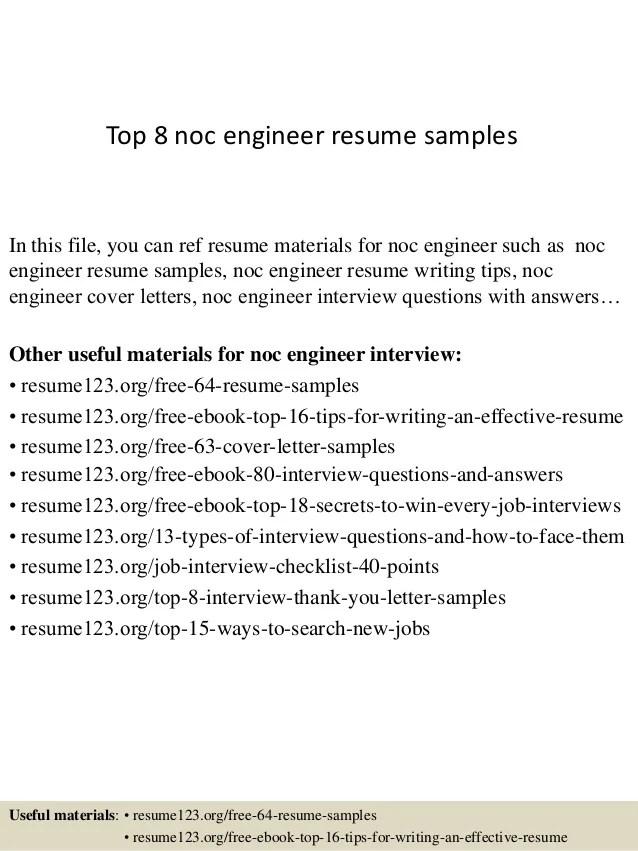 Top 8 Noc Engineer Resume Samples 1 638 ?cb=1427960769