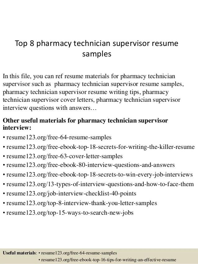sample resume for pharmacy technician pharmacy technician resume