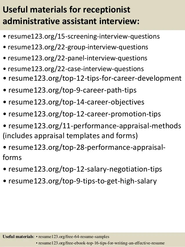 28 Best Executive Assistant Resume Examples Images On Pinterest .