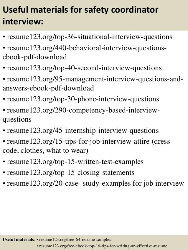 resume writing job description