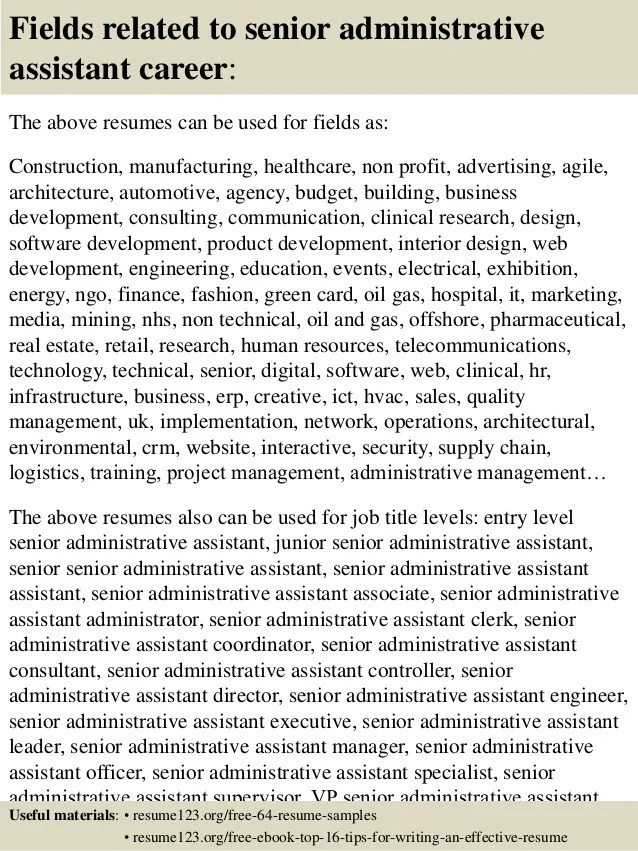 real estate administrative assistant resume samples