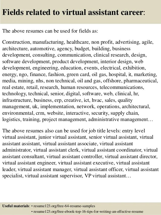 advertising assistant resumes