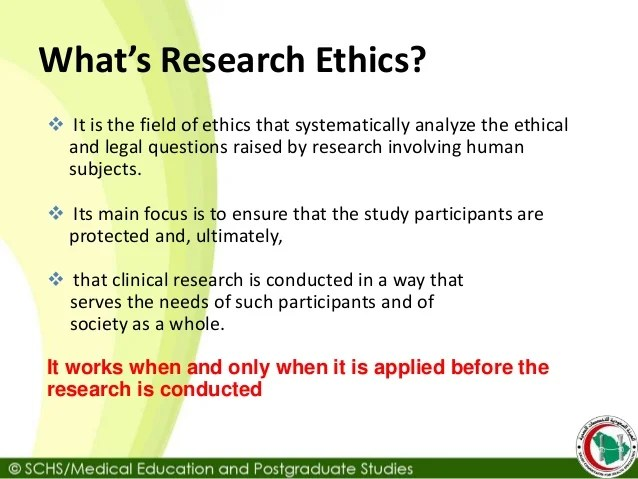 Schs Topic7 Research Ethics