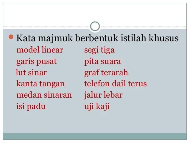 Topik 4 unit bahasa bentuk kata2