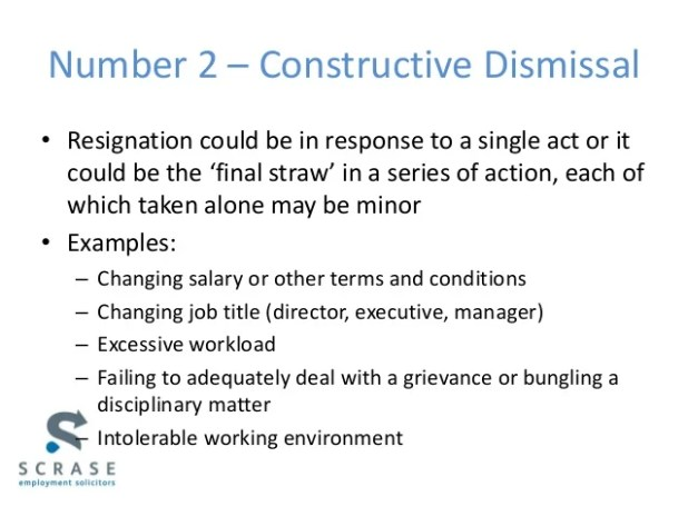constructive dismissal resignation letter example uk visorgede co