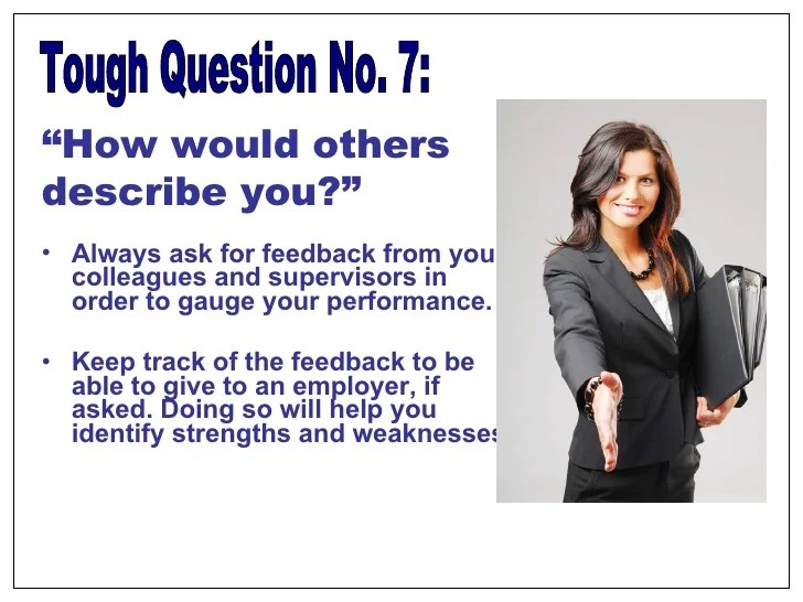 Tough Interview Questions
