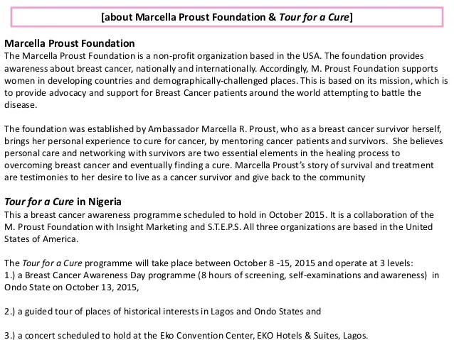 Communications Plan for Breast Cancer Awareness Campaign NonProfit