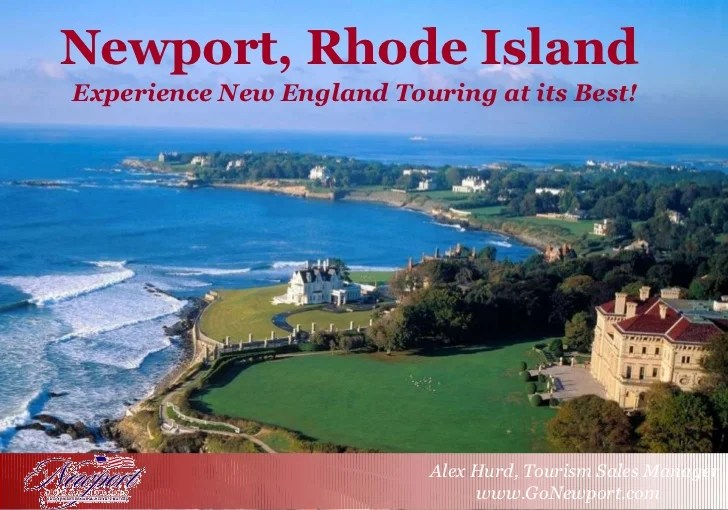 Newport RI Tourism Ppt