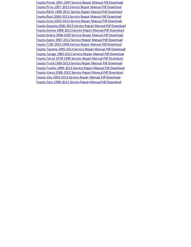 toyota hiace electrical wiring diagram manual pdf download