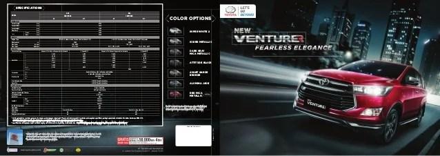 all new innova venturer 2018 toyota camry thailand kijang brosur 4 didukung oleh sales outlet dan layanan purna jual service spare parts