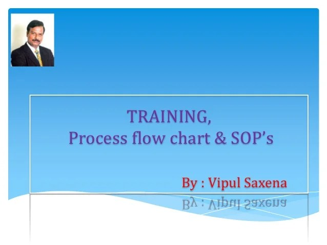 Training process flow chart  sop  by vipul saxena also rh slideshare