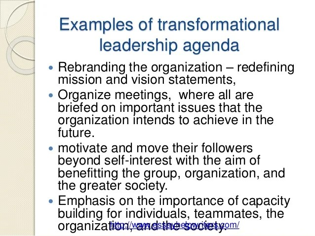 Vision Vs Mission Examples